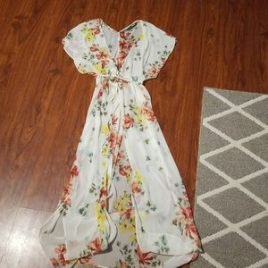 Floral Cover Up (spring look)